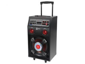 Caixa de Som Bluetooth Lenoxx CA 313 150W USB - Subwoofer e Microfone Sem Fio Entrada SD