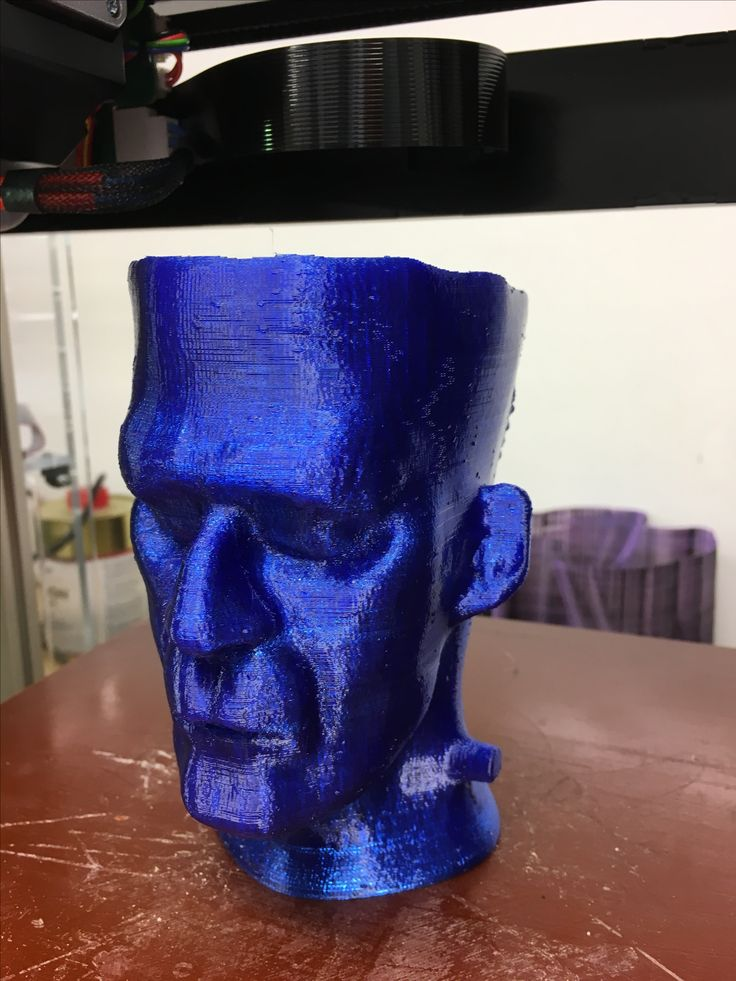 Frankenstein 3D-tulostettu FELIX Pro 1 3D-tulostimella PETG filamentilla. #felixprinters #3dtulostus #3dtulostin #petg #filamentti #filament #frankenstein #3dprinting #3dprinter