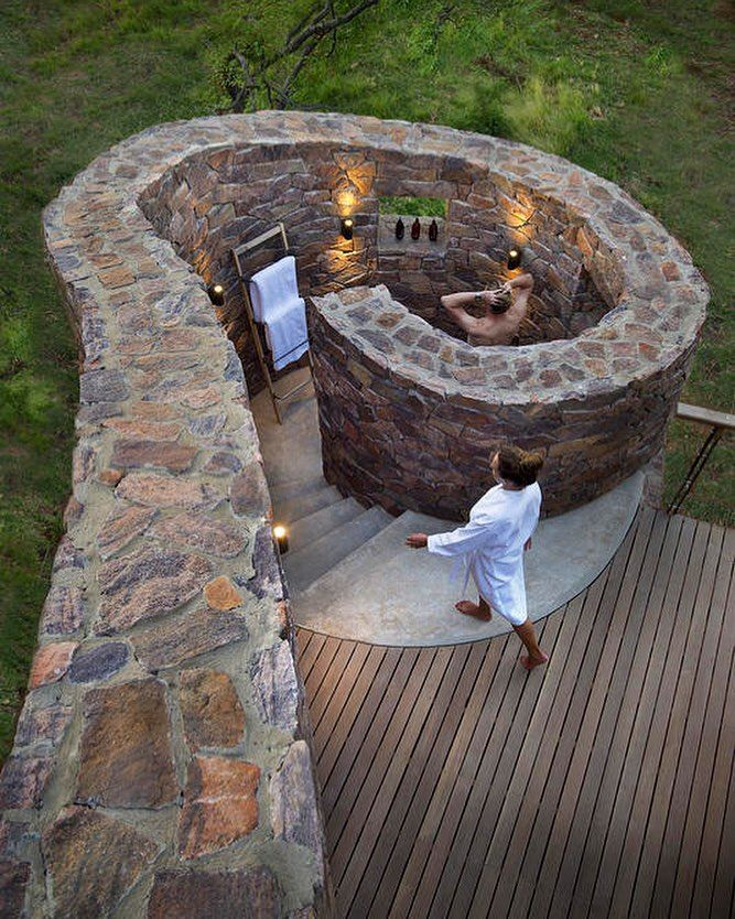 "15.5k Likes, 98 Comments - designboom magazine (@designboom) on Instagram: ""the #mhondorogamelodge is a safari getaway in the heart of #southafrica featuring a unique outdoor…"""