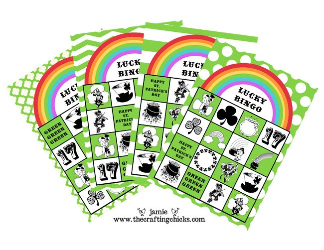 {St. Patrick's Day LUCKY BINGO and Free Printables}