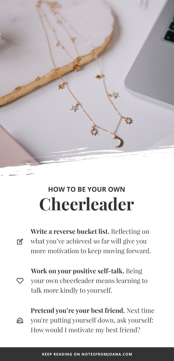 How I'm Learning To Be My Own Cheerleader. How To Motivate Myself. Self-Motivation. // Notes from Joana