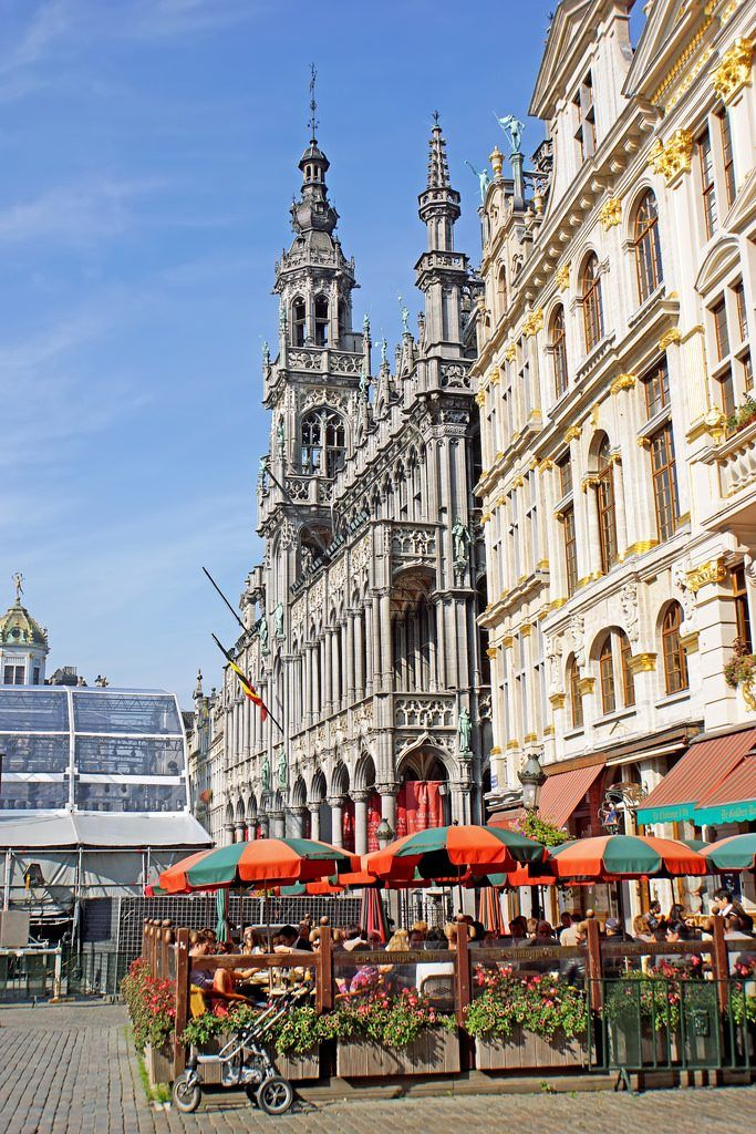 Grand Place Brussels- 48 hours in Brussels