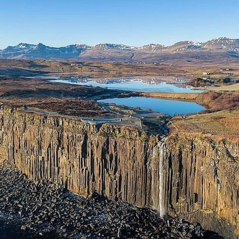 Mealt Falls, Isola di Skye, Scozia