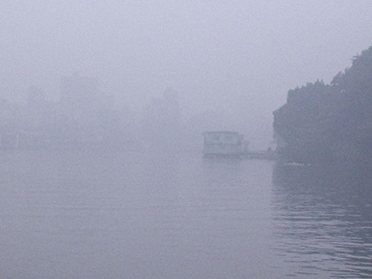 Early morning fog on the Nile - Zamalek