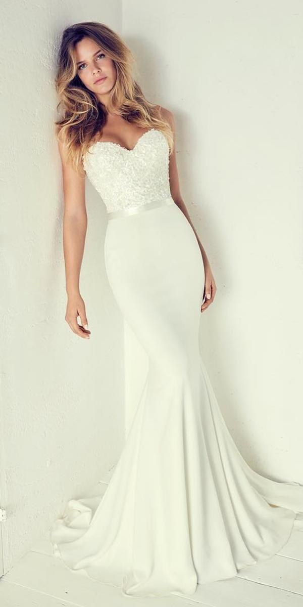 30 Simple Wedding Dresses For Elegant Brides Suzanne Neville