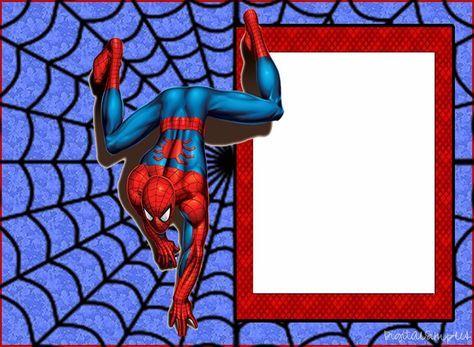 die besten 20+ spiderman gratis ideen auf pinterest | cumpleaños, Einladungsentwurf