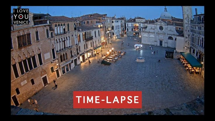 Campo Santa Maria Formosa Timelapse (24h) - Venice in Motion
