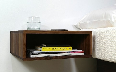 The Edge Wall-Mounted Side Table