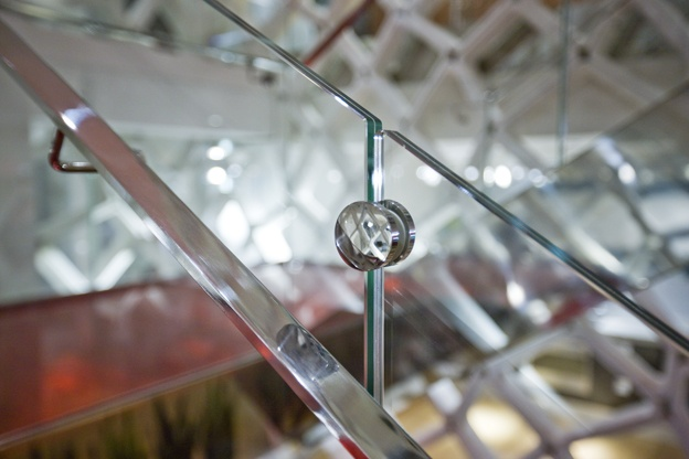 Glass Staircase by Fontanot