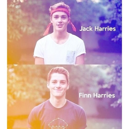 Jack and Finn Harries