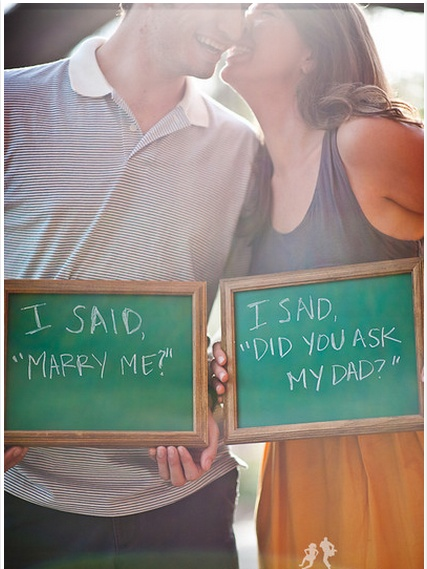 Engagement photo idea. <3 <3 <3 Cause this really did happen! Lol