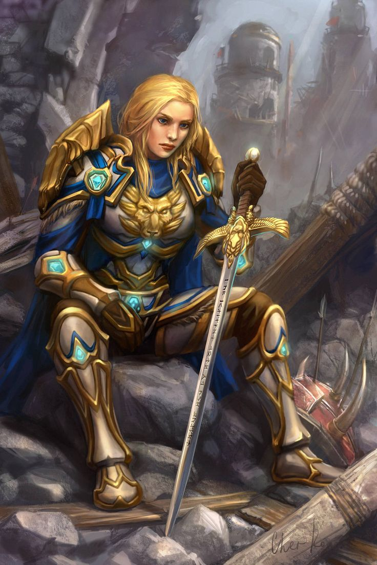 Amely Summers by Cher-Ro | World of warcraft paladin