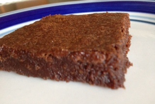 Fast Fudgy Brownies - you'll never use a box mix again!