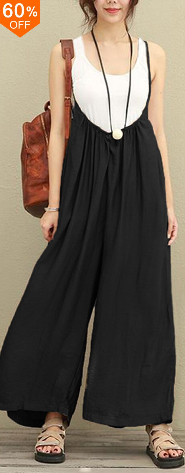 I love those fashionable and beautiful jumpsuits from banggood.com. Find the most suitable and comfortable outfit at incredibly low prices here.  #women #leggings #outfit