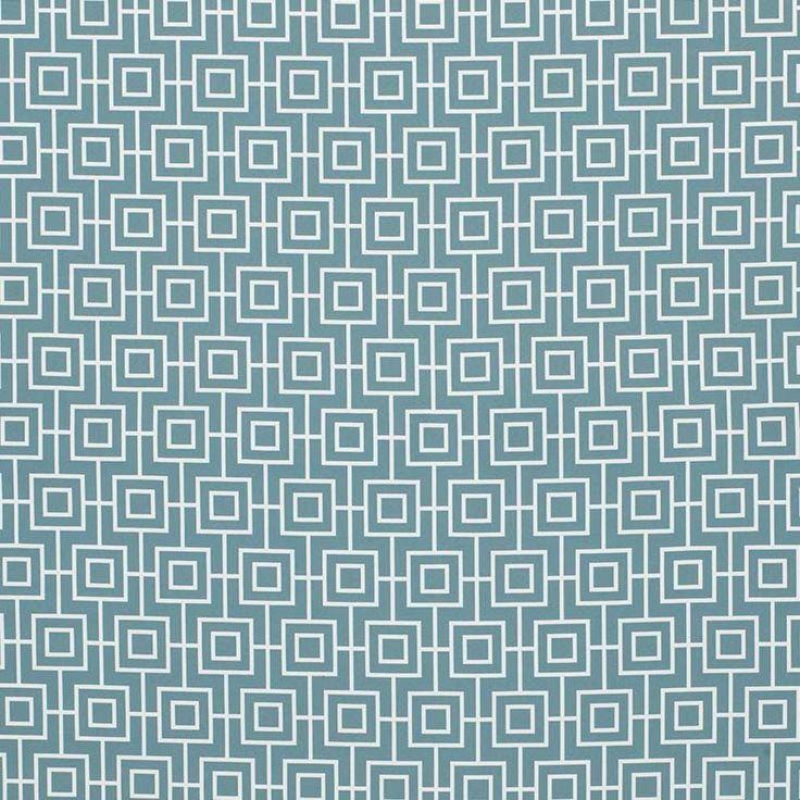Warwick Fabrics : BONDI, Colour OCEAN