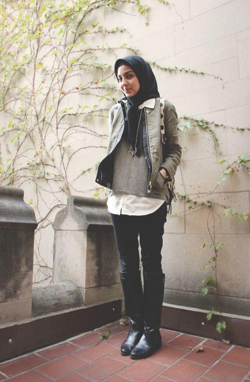 street-hijab-fashion:  UChicago Ivy at JooJoo Azad ~ Free Bird http://joojoo-blog.blogspot.com Check out the blog for more photos!