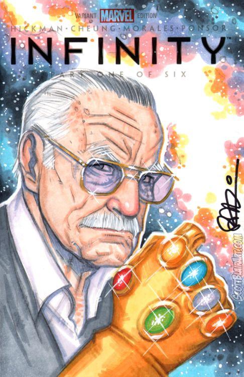 Stan Lee Infinity Gauntlet - Scott Blair