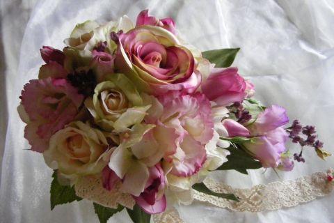 Lizike menyasszonyi csokor, eviara, meska.hu #bride #bouquet