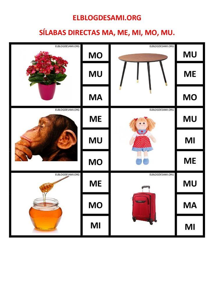 Objetivo(s): Mejorar la competencia lectora, Diferenciar visual y auditivamente las sílabas directas ma-me-mi-mo-mu. Actividad(es): Verbalizar en voz alta el nombre de cada imagen. Leer las sílabas situadas en el lado … Leer más »