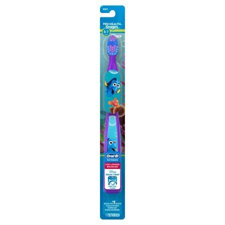 "Oral-B Pro-Healthâ""¢ Stagesâ""¢ Disney Pixar Findy Dory Soft Toothbrush, Multicolor"