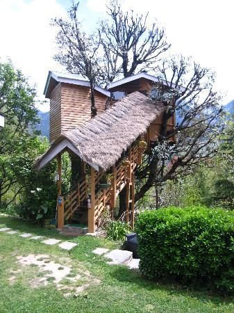 Manali Cottages, Himachal Pradesh, India.