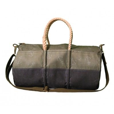 Sea Bags... Maine Made... Old sails turned into fabulous sturdy bags of all kinds. #seabags