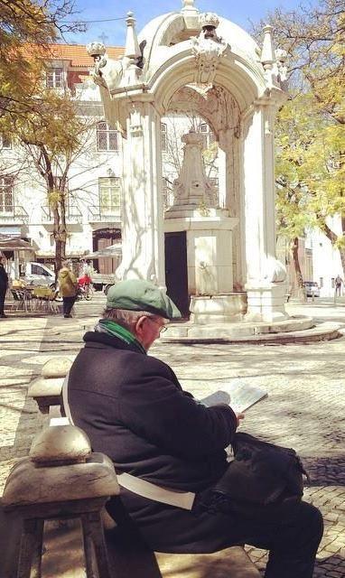 Largo do Carmo, Lisboa.