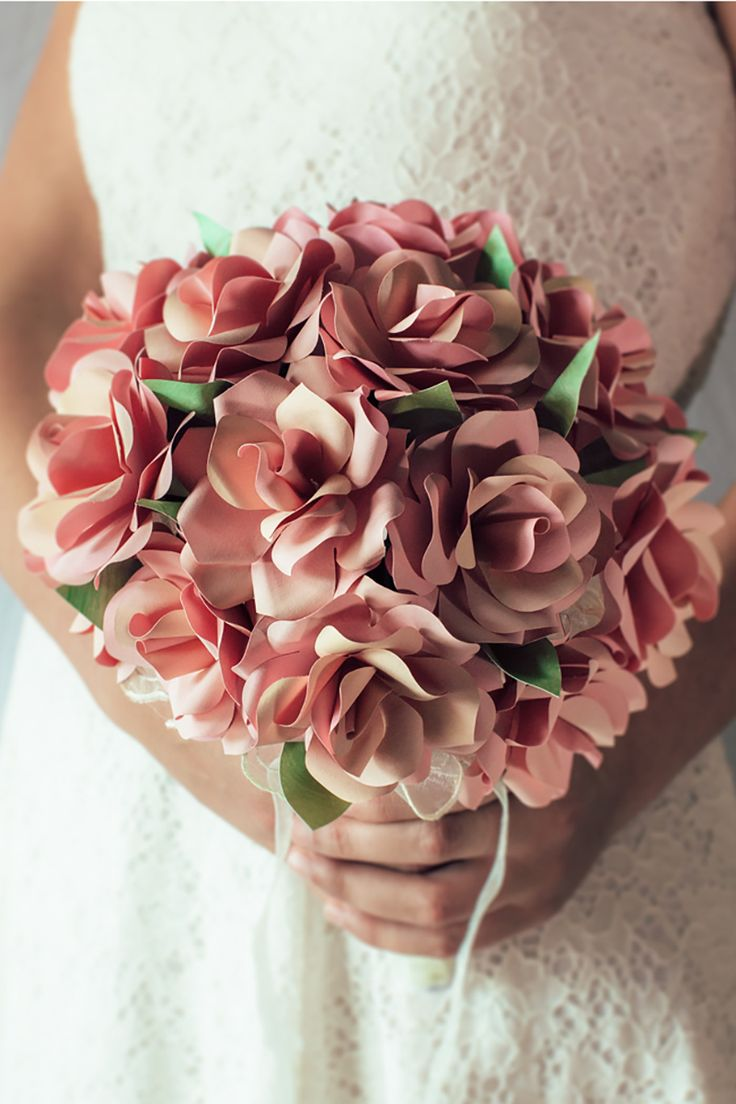 bouquet di rose di carta di Unusual Bouquet