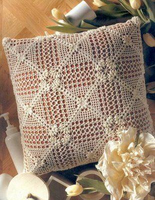 andrea croche: lindas almofadas de croche
