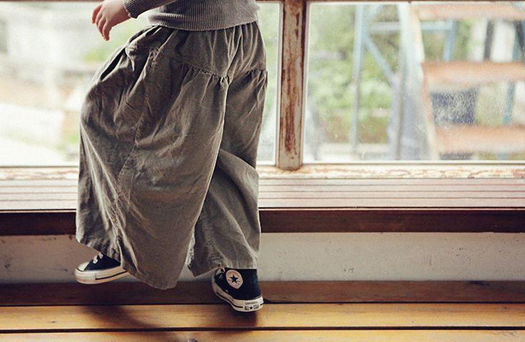 Corduroy Wide Pants by BIEN A BIEN find it at: http://www.tatataworld.com/product/corduroy-wide-pants