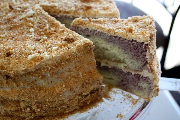 Viktor's favorite food of all time was Biskvit Apple Cake, a traditional Russian cake.