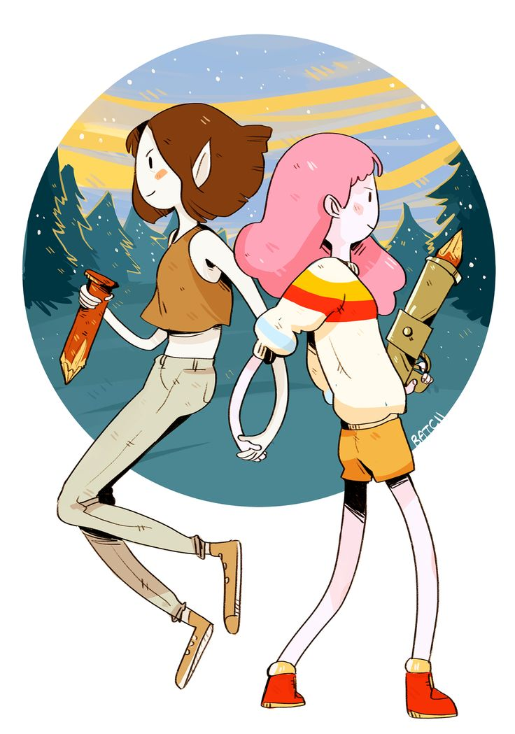 i don't keep up w adventure time enough but i watched 'stakes' today and all i have to say is VAMPIRE SLAYER GIRLFRIENDS [prints & junk]