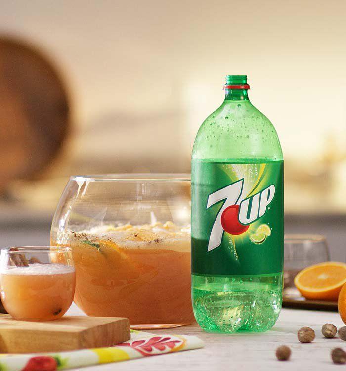 7UP Orange Spice Punch