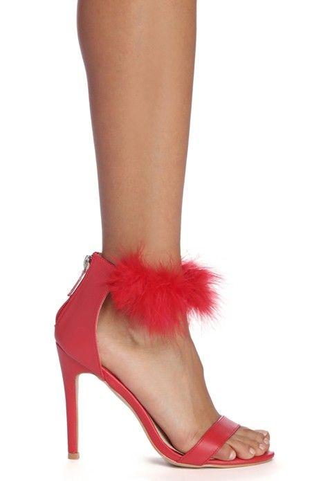 cfa053a8d Cuff 'Em With Faux Fur Heels in 2019 | Tacones | Tacones