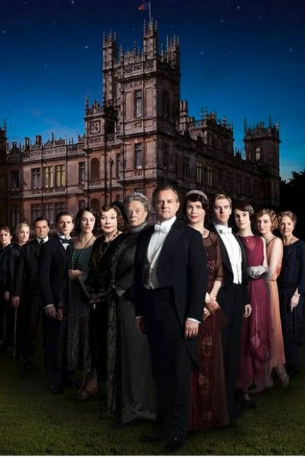 Downton Abbey season 4 starts tonight!!!!! Get excited!:)