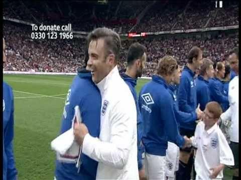 Simon Baker - Soccer Aid 2010 Part1