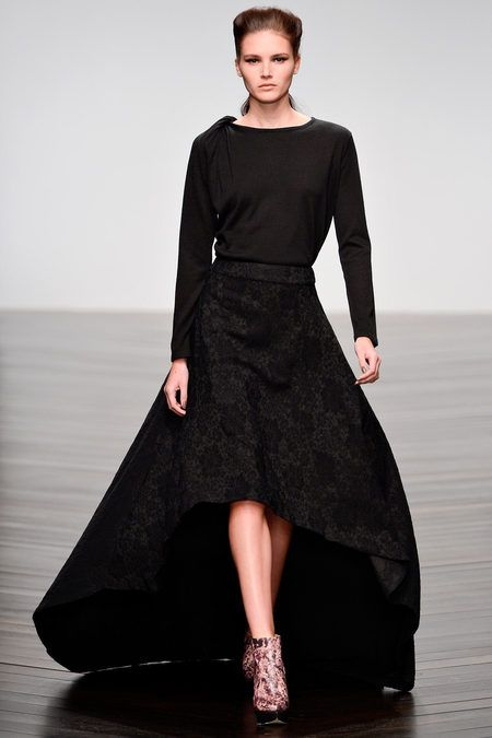 London Fashion Week Fall 2013 Maria Grachvogel