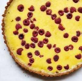 lemon raspberry crostata lemon dessert recipes lemon custard cooking ...