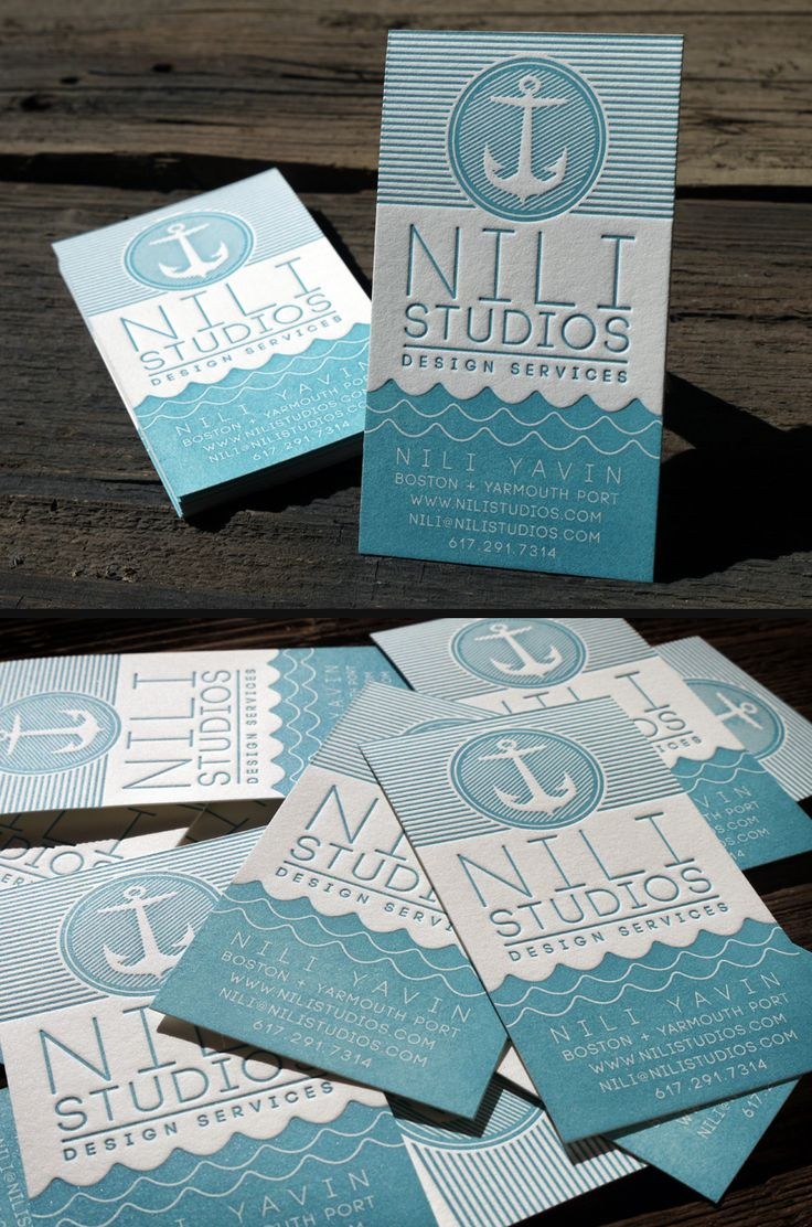 317 best business cards images on pinterest books cheese and flyers nili studios nautical letterpress business cards letterpress business cards created for nili studios printed on cotton paper magicingreecefo Gallery