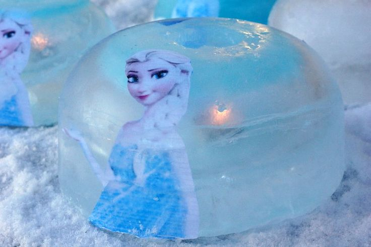 Tee itse upeat Frozen -jäälyhdyt