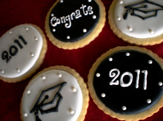 Sugar Lily: Graduation Cookies