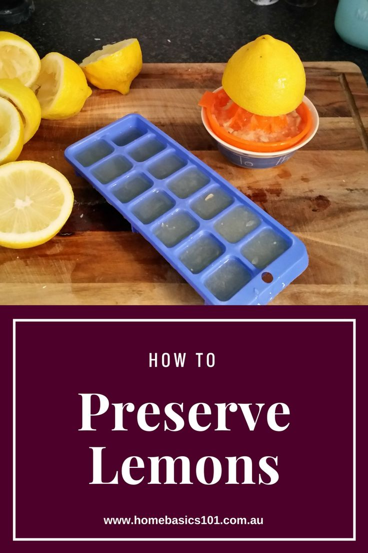 Have Excess Lemons, Let us show you how to preserve your lemons