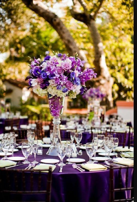 結婚式披露宴のテーブルコーディネート画像40選【カラー別】 | ときめキカク365