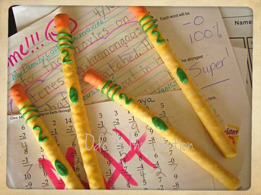 Love these. Pencil Pretzels. #teacherappreciationweek