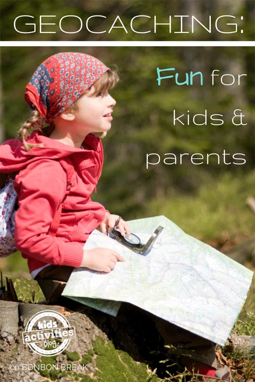 Geocaching: Outdoor Fun for Kids and Parents, Too! From The Kids Activities Blog