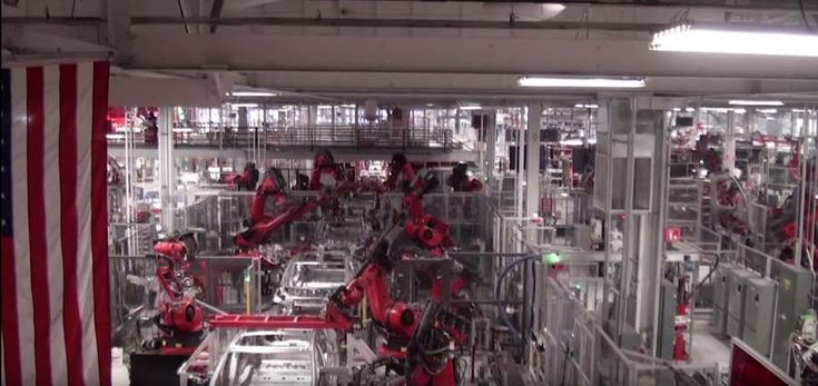 The amazing Tesla factory  , - ,   A video by Car G...