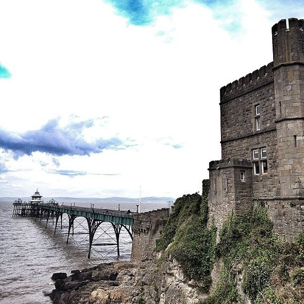 One of 78 piers of historical note built along the coast of Britain from 1854 to 1904, the Clevedon pier and toll house are in the town of Clevedon in the county of Somerset. Submitted via Instagram by (@)pascal1325 Follow (@)trunkmag on Instagram and submit your photos to us with the tag #trunkpostcard