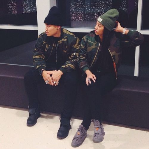His Her Matching Camo Bomber Jacket Relationship Goals