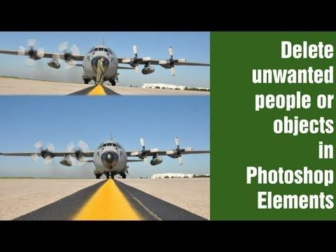 Learn Photoshop Elements - Remove Unwanted People and objects from Pictures