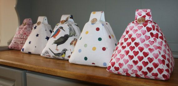 Handmade Fabric Doorstop Door stop in Emma Bridgewater Fabrics Birds / Hearts / Polka Dot / Starry Skies / Sampler